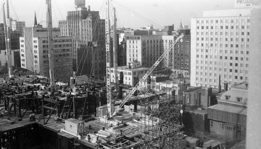 La construction de la Place Ville-Marie en 1960 (1/2)