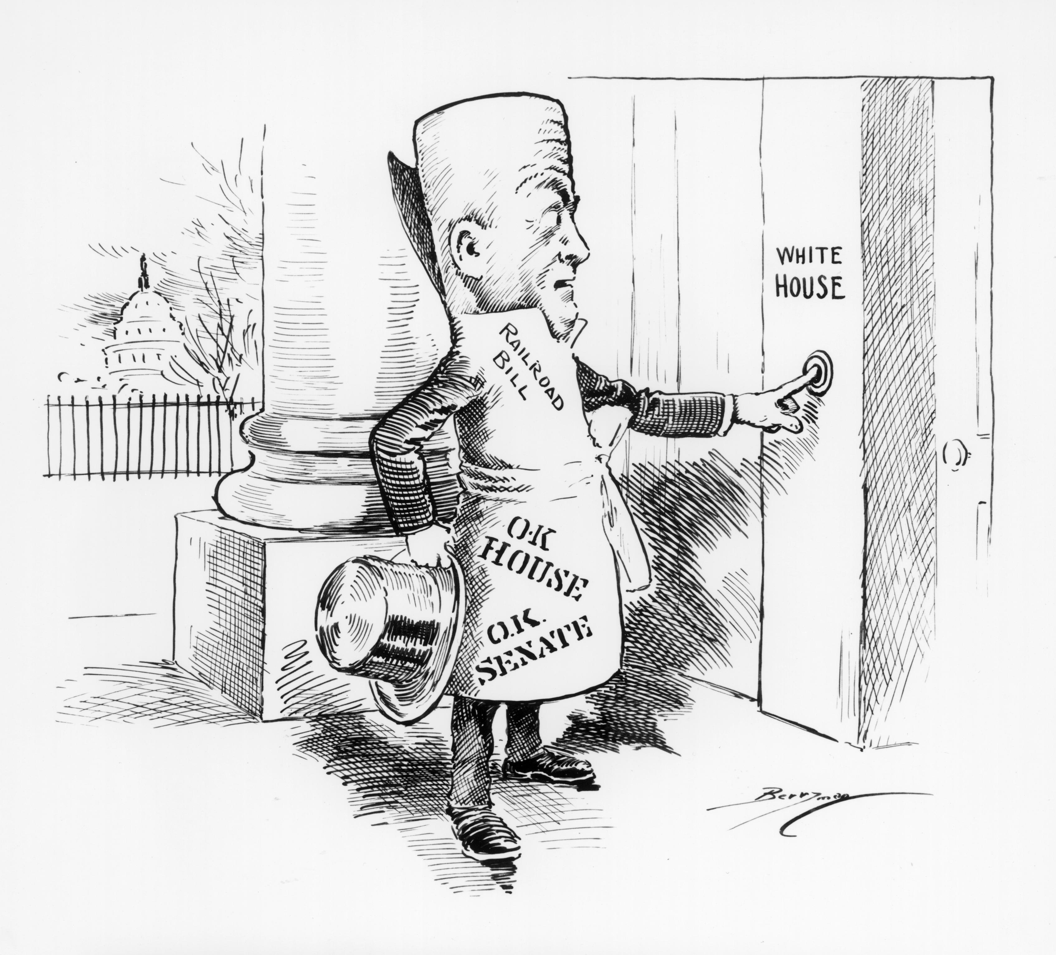 Constitutional Scavenger Hunt With Political Cartoons Lesson Engages Students