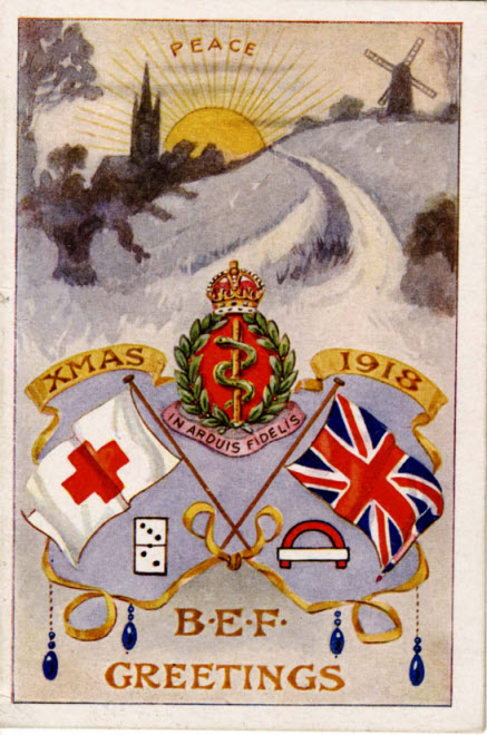 British Expeditionary Forces Christmas Card Archives Hub