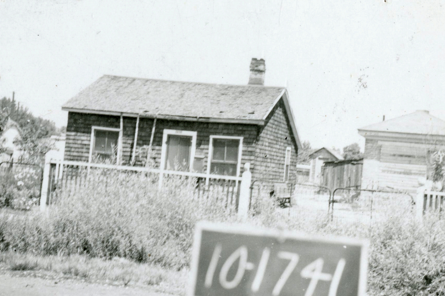 Photograph of House on 1216 Pacific Avenue, 1937
