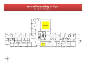 State Office Building 1st Floor