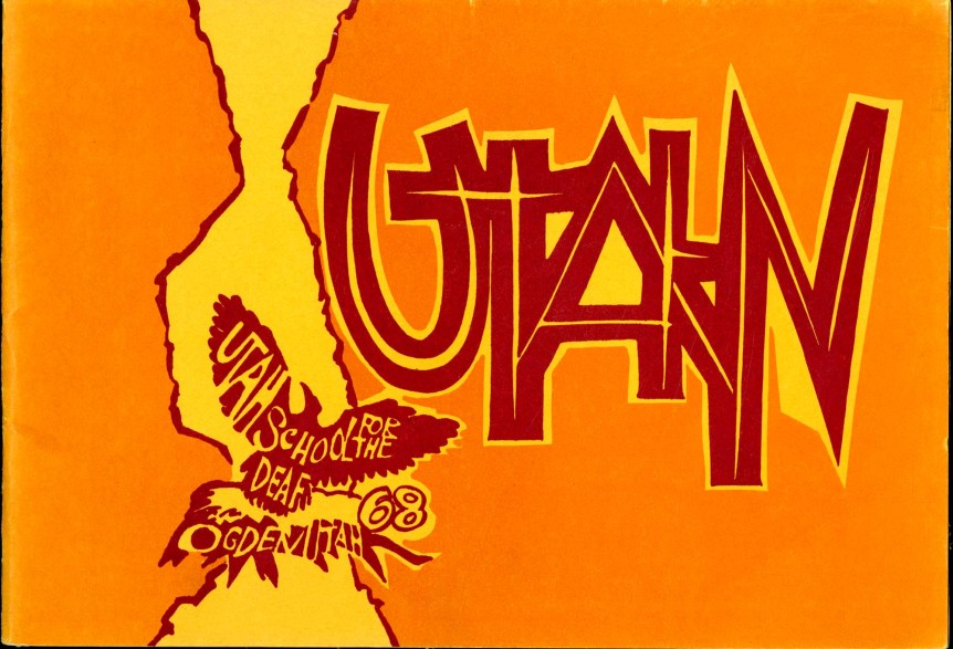 Utahn 1968 yearbook cover