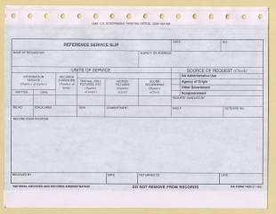 image of current NA Form 14001