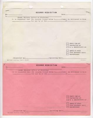 Form 1, May 1947