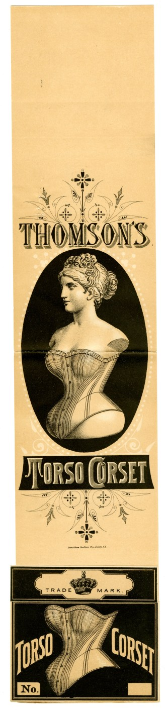 1662 - Thomson's Torso Corset - Thomson, Langdon, & Co., 1878