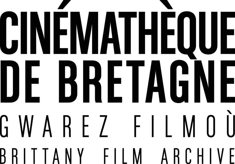 logo of La Cinémathèque de Bretagne that collects, stores, and shares archival footage and records of Bretons and Brittany
