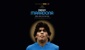 "the poster of Asif Kapadia's new documentary ""Diego Maradona"""