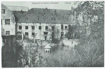 L'étang de l'abbaye de la Cambre