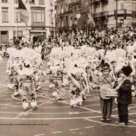 Fêtes enfantines, photo, sd, Collection photographique (inv13_589), Archives communales de Saint-Gilles   Kinderlijke feest, foto, sd, Fotografische verzameling (inv13_589), Gemeentearchieven van Sint-Gillis