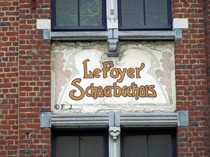 Rue du Foyer schaerbeekois, photo | Schaarbeekse Haardstraat, foto 2009 (© F. J.)