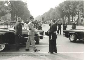 Fête nationale du 21 juillet 1963 au square Montgomery, photo, Archives communales de Woluwe-Saint-Pierre   Nationale feestdag van 21 juli 1963 op Square Montgomery, foto, Gemeentearchief van Sint-Pieters-Woluwe