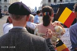 Scène le long du cortège, photo, (ca. 2010), collection iconographique (A-4996), Archives de la Ville de Bruxelles, © Bernard Boccara | Scene langs de route van de processie, foto, (ca. 2010), iconografische verzameling (A-4996), Archief van de Stad Brussel, © Bernard Boccara
