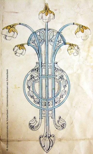 Plan d'un luminaire, ACS | Plan van een lamp, GAS
