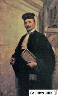 Schilerij van Jacques Maydol, 1920 (Collectie Gemeentelijke administratie van Sint-Gillis).