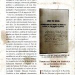 20. Programa de la Exposición Documental y Fotográfica de San Andrés y Sauces, organizada en 1999