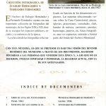 23. Programa de la Exposición Documental y Fotográfica de San Andrés y Sauces, organizada en 1999