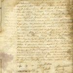 34. Acta más antigua que se conserva. Sesión celebrada por el Ayuntamiento Pleno el día 1 de enero de 1843. · San Andrés y Sauces