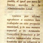 4. Programa de la inauguración del AMSAYS · San Andrés y Sauces