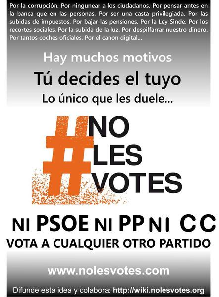 Archivo:Cartel nolesvotes DecideTuMotivo Canarias.pdf