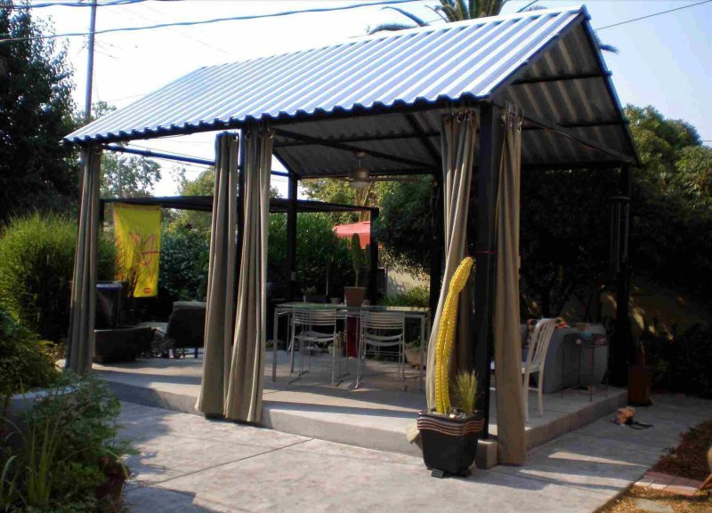 Freestanding Metal Roofing Patio Cover