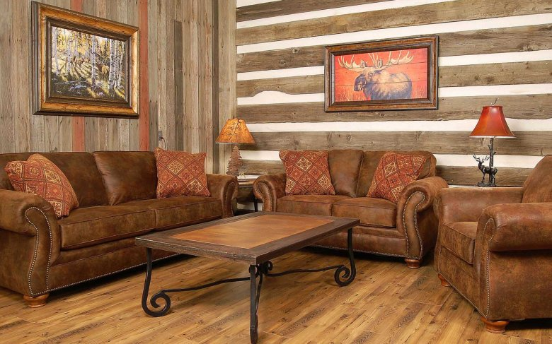 Modern Indian Living Room with Wooden Decorating Ideas