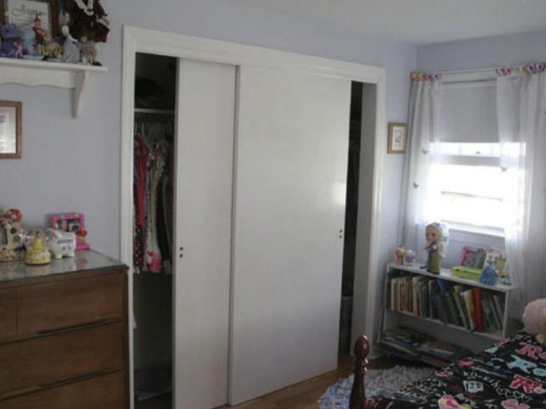 Neat Bypass Closet Doors