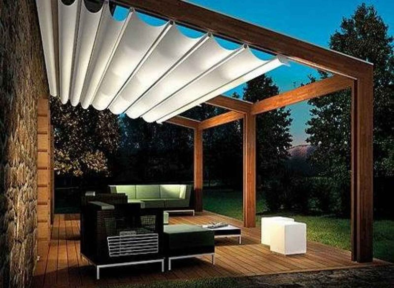 Canvas Shade Sail for Patio Roof