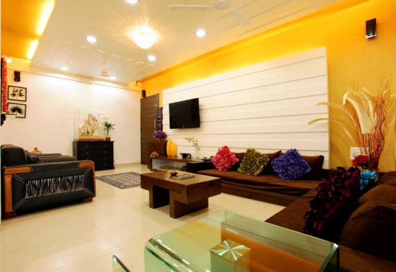 Simple Interior Design for Indian Living Room
