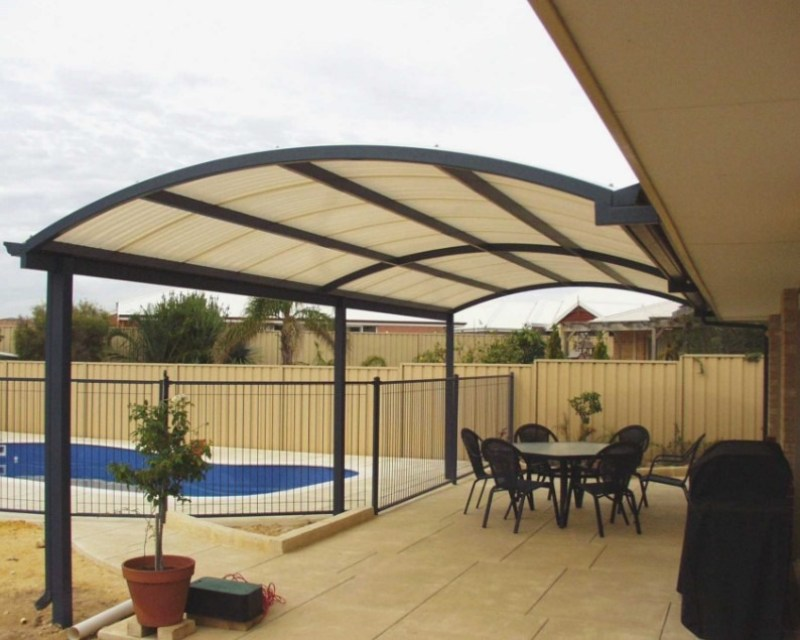 Translucent Fiberglass Patio Roof