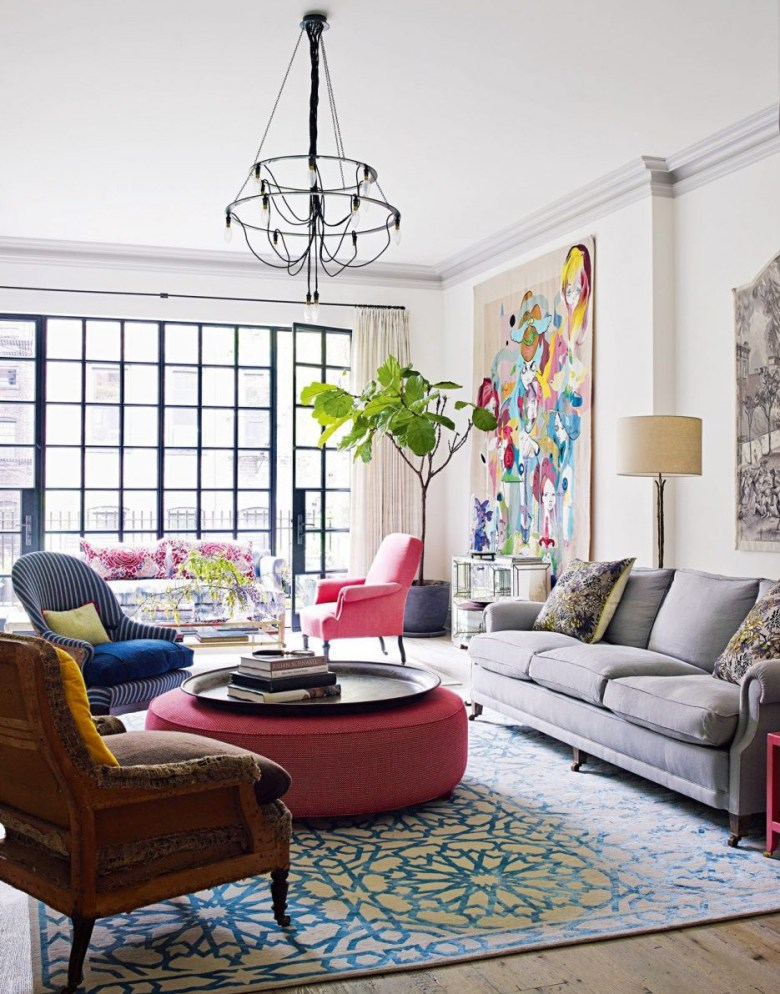 Accent Wall for Eclectic Style