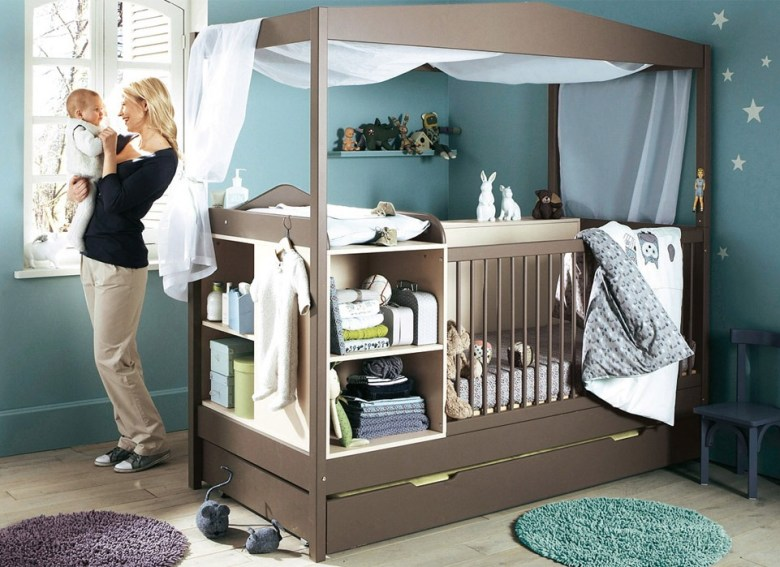 All-in-One Baby Cot Bed
