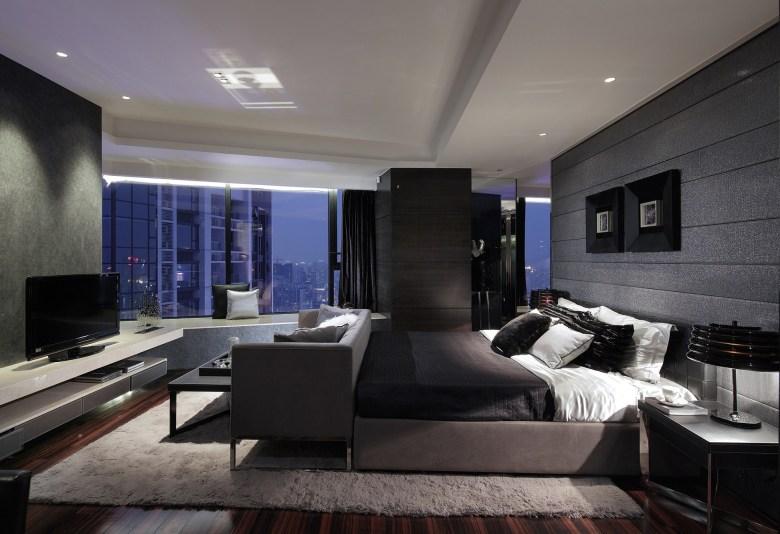 Bold Master Bedroom for Men