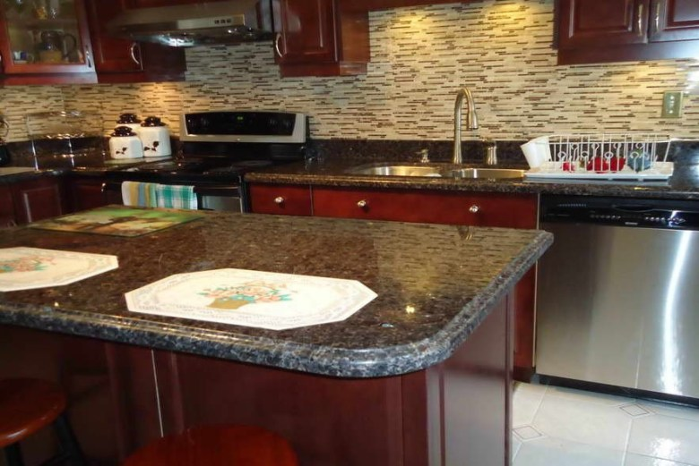 Brown Pearl Granite Countertop