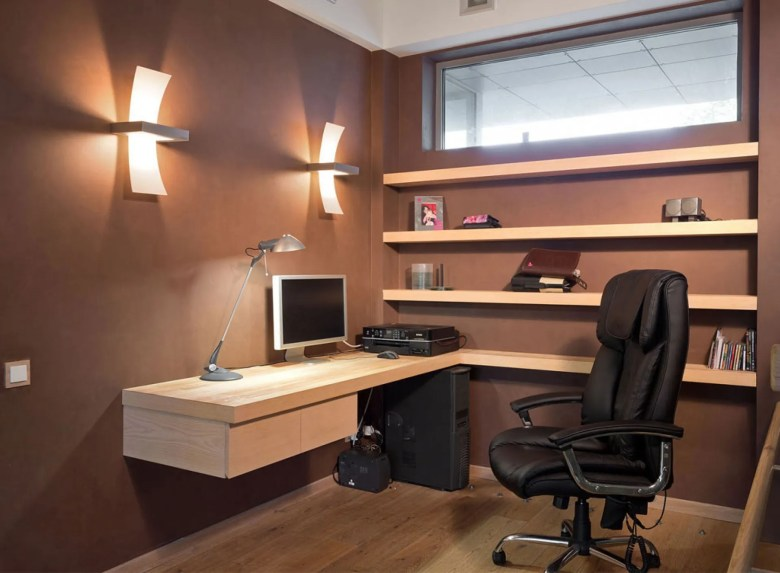 Elegant Brown Office