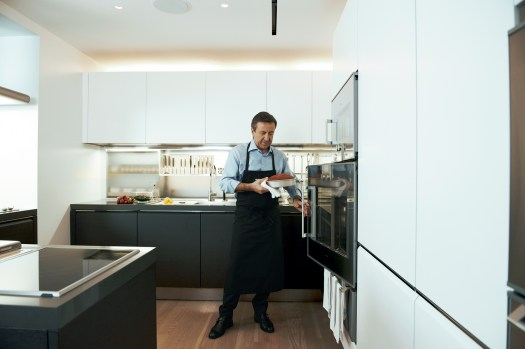 Chef Daniel Bouludâ S Newly Redesigned Kitchen Neatly Contains A Multitude Of His Favorite