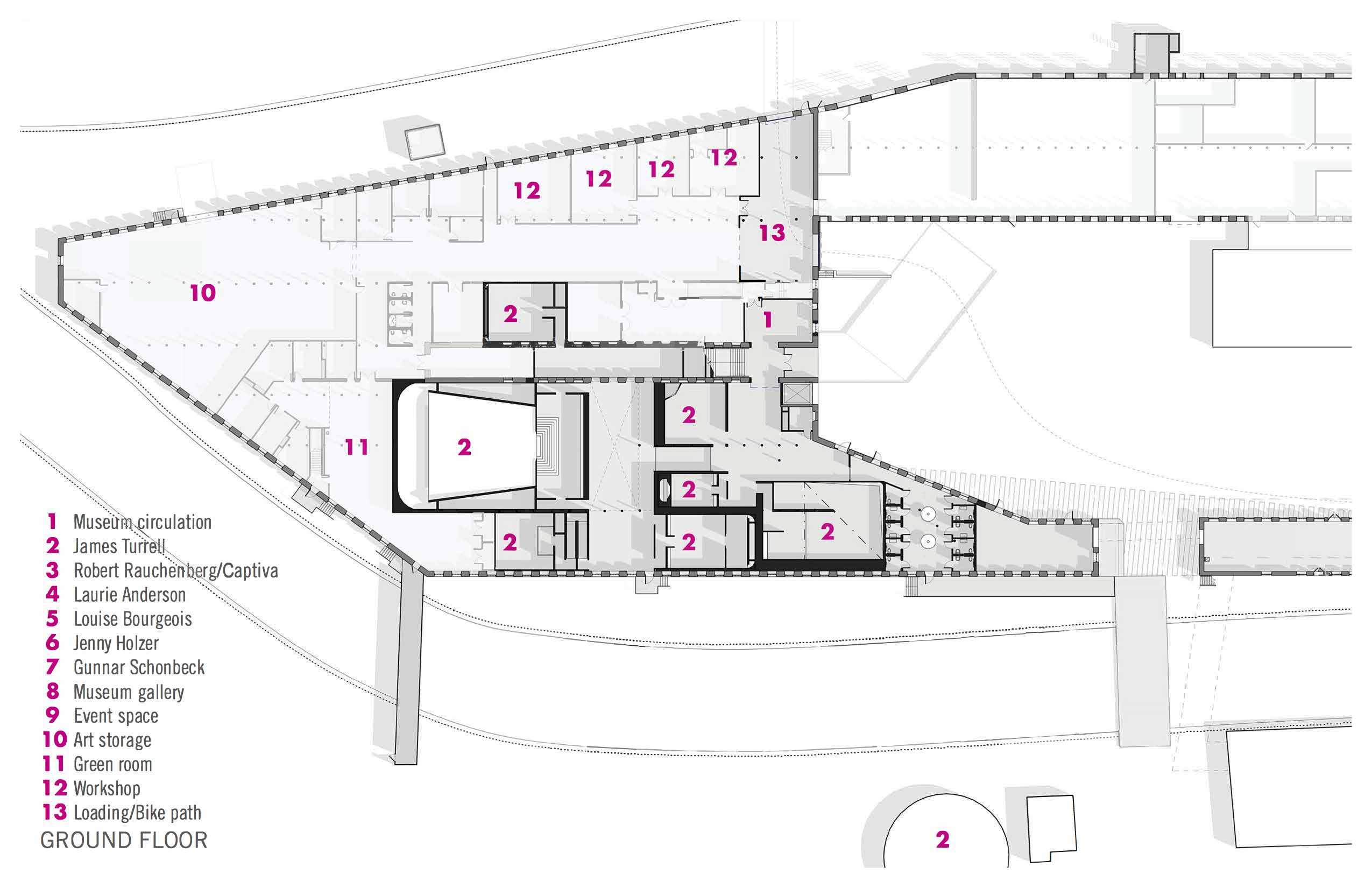 Mass Moca Floorplan 1