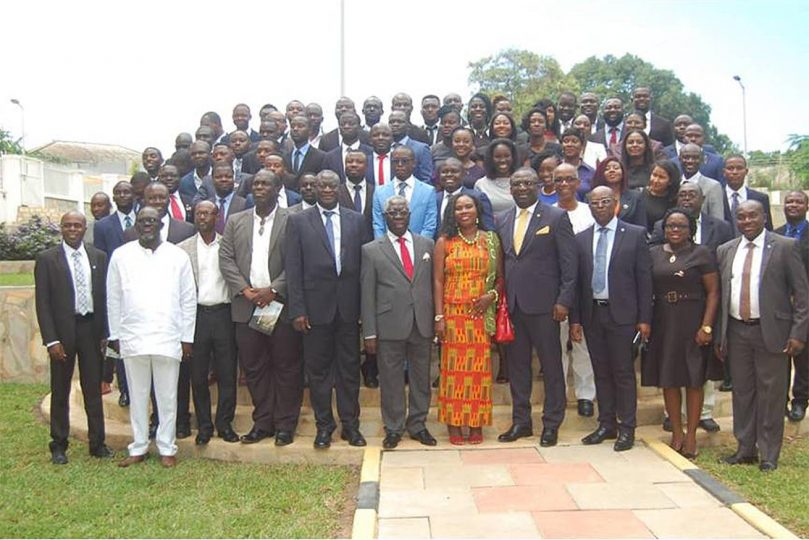 60 New Architects Inducted by the Architects Registration Council of Ghana