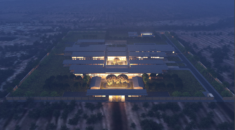 Adjaye Associates Unveils Ghana's District Hospitals Design with a Complementary Sod Cutting Ceremony