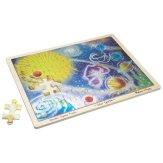 Solar Sparkle Foil Wooden Jigsaw Puzzle