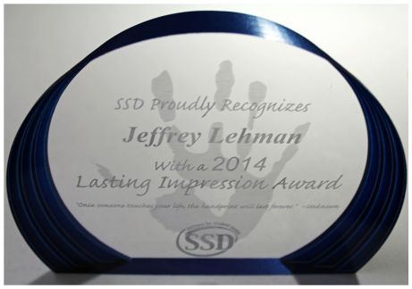 SSD Lasting Impression Award