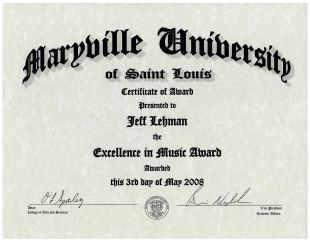Maryville Award