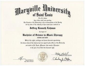 Maryville Diploma