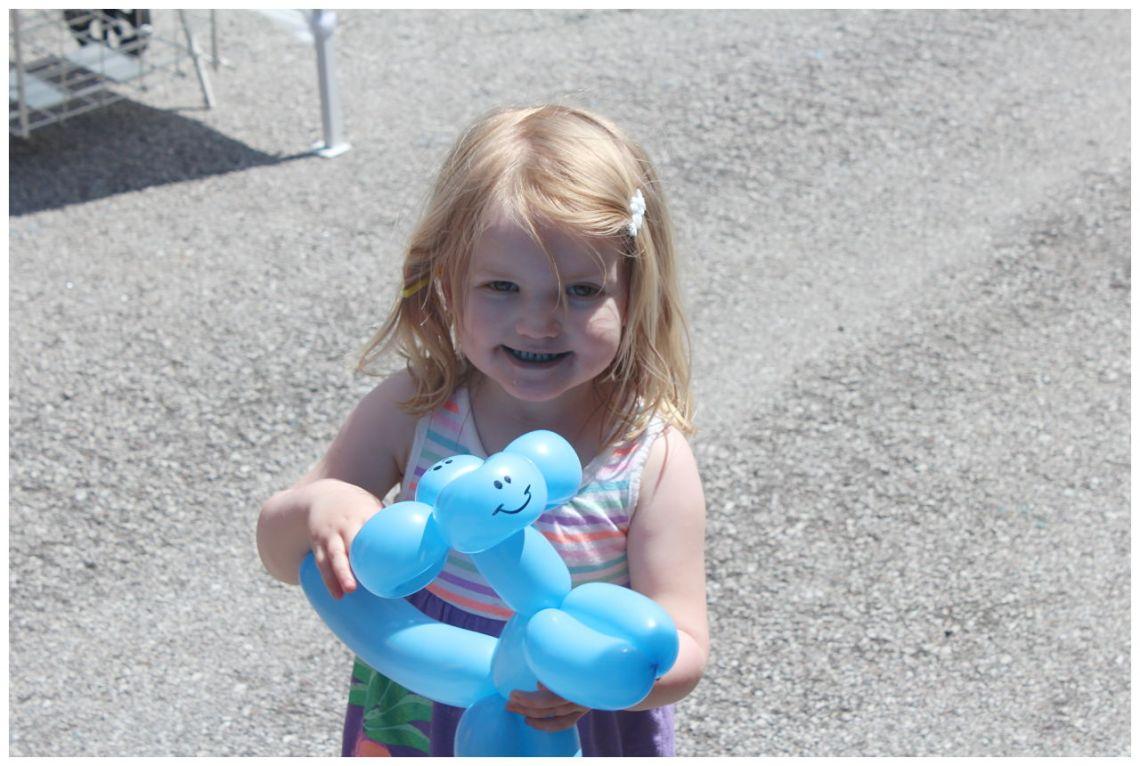 St. Louis Fragile X Walk - Balloon Face