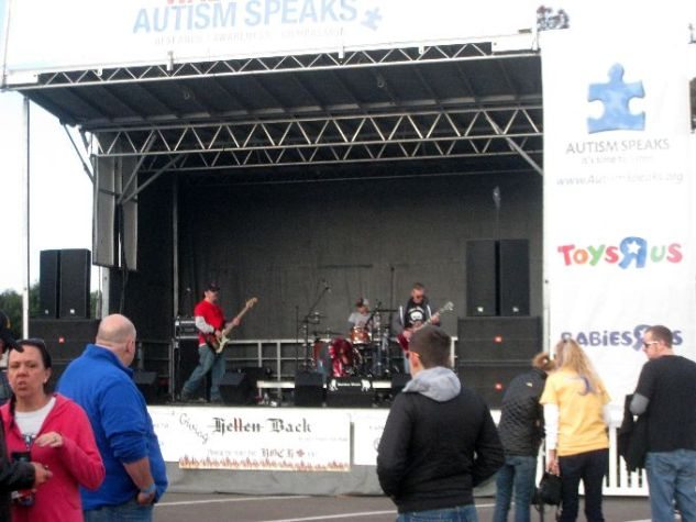 Walk Now For Autism Speaks Band