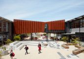 http://www.dezeen.com/2016/02/22/branch-studio-architects-flyover-bridge-school-melbourne-corten-steel/