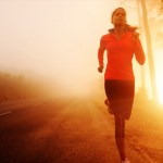 Physical health blogs woman running