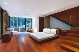 Luxury-Wooden-Bedroom-Ideas-at-Modern-House-Design-that-Interact-Directly-with-Trees-Corallo-House-in-Guatemala