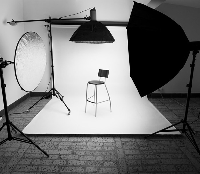 studio lighting setup arch viz camp