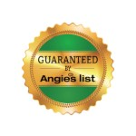 Guaranteed Angies List Certificate, Roofing, Siding, Windows and gutters
