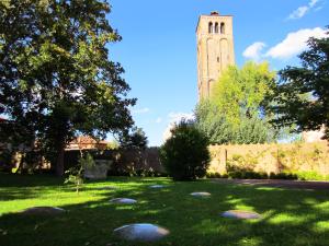 Murano museum garden
